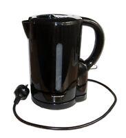 WASSERKOCHER 1,7L SCHWARZ 1850-2200W Wasserkessel Teekocher Wasser Kocher 145