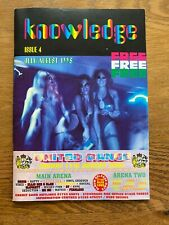 Rave Flyer Magazine Knowledge Issue Four July/August 1995