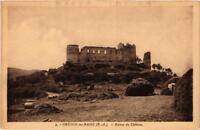 CPA Gréoux-les-Bains Ruines du Chateau (683593)