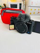 Sony ZV-1 20.1MP/4K Compact Vlog Digital Camera (Black) - DCZV1/B