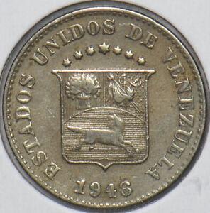 Venezuela 1948 5 Centimos Horse animal 195277 combine shipping