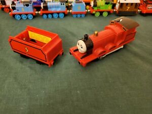 TOMY Thomas & Friends James the Red Engine PARTS READ DISC