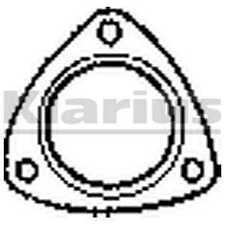 Klarius Exhaust Gasket 410490 - BRAND NEW - GENUINE - 5 YEAR WARRANTY