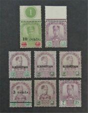 nystamps British Malaya Johore Stamp # 21//93 Mint OG H $30