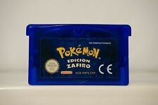Pokemon Edición Zafiro Game Boy Advance Gba guarda partida en español 4321