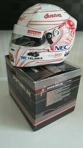 Signed Kamui Kobayashi Arai half scale helmet F1 2011 1:2 Sauber