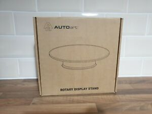 AUTOart MODELS BATTERY OPERATED ROTARY DISPLAY STAND - 1/24 / 1/43 / 1/18 SCALE