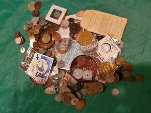 MONEY VINTAGE HOARD ESTATE LOT OLD  COINS