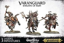 Chaos Varanguard Knights of Ruin - Games Workshop miniatures Original