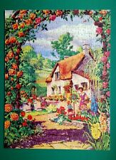 "C1950s TOWER PRESS JIGSAW PUZZLE ""THE ROSE BOWER"" COMPLETE & BOXED 400 PIECES"