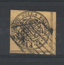 FRANCOBOLLI 1864 STATO PONTIFICIO 4 BAJ USATO A/4391