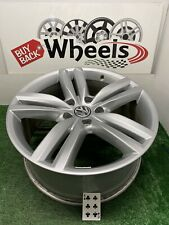 "20"" VW VOLKSWAGEN TOUAREG 69917 OEM FACTORY ORIGINAL WHEEL RIM SILVER PIKES PEAK"