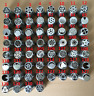 60Pcs Russian Tulip Flower Cake Icing Piping Nozzles Decoration Tip Baking Tools