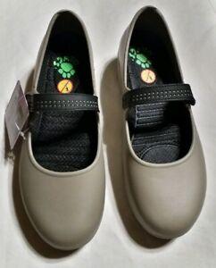 Dawgs Tan/Black Mary Jane Pro Women's Work/Nursing Shoes SIZE 9