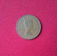 Gran Bretaña 0260 Penny Elizabeth Ii 1962