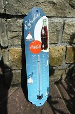 Coca Cola THERMOMETER - Refreshing - Retro - Licensed Product ! Sealed in Box