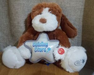 Shining Stars Musical Singing Light up Puppy Dog by Russ