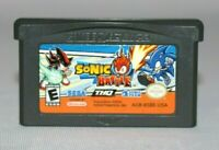 Sonic Battle GBA Game Boy Advance Authentic & Tested! Great Condition! NICE!
