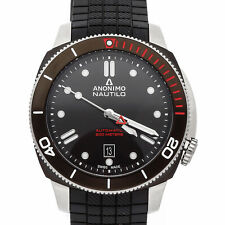 Anonimo Nautilo Steel DLC 44.4mm Mens Watch Strap AM-1002.01.001.A11