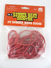 24 Rubber Band Ammo REFILL Pack  No.6 Shooter for Rifles