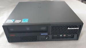 Mini PC Lenovo Thinkcentre M58 - E5700 3GHz - 4Go DDR3 - HDD 320Go - W10 Pro