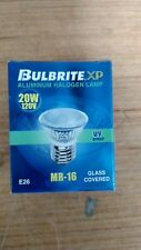 Bulb Brite XP 120V 20W E26 MR-16 20 Watt Aluminum Halogen Bulb Lamp BAB Flood