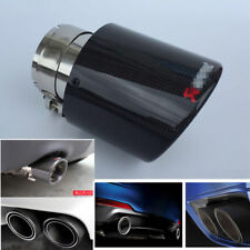 "Car Exhaust Tip Muffler Pipe Pipes Tail 2.5""Inlet 114mm 4.5""Outlet For 1.6L-2.5L"