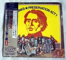 The Kinks - Preservation Act 1 (1973) / JAPAN MINI LP SHM CD (2008) +2 tracks