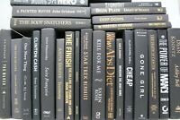 10 BLACK Hardcover Books for Decor, Staging, Props Gold Silver Copper Lettering