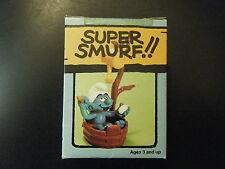 6740 (4.0235) SUPER SMURF – BATHTUB - NEW IN W. BERRIE BOX