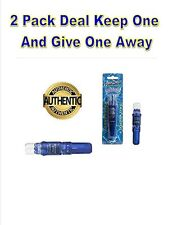Vibratex WaterDancer Waterproof Mini Massager Blue 2 PaCk.  Keep 1 & give 1 away