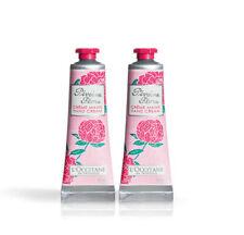 L'OCCITANE Pivoine Flora Hand Cream 2 x 30ml/1oz NEW