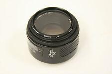 Minolta AF 50mm f1.7 lens Konica Minolta Sony