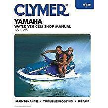 Yamaha Jet Ski PWC servicio de taller de 1993 a 1996 Reparación Manual Manual Clymer
