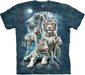 """The Mountain Kinder Batik T-Shirt """"Night Tiger Collage"""""""