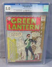 GREEN LANTERN #27 Gil Kane cover and art CGC 5.0 VG/FN DC Comics 1964