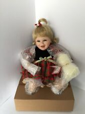 """Vintage Ashton Drake Baby Doll """"Baby's First Christmas"""" Collectible Doll #94522"""