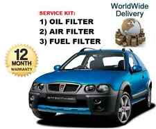 FOR ROVER STREET WISE 2.0TD 07/2003-12/2005 OIL AIR FUEL FILTER SERVICE KIT