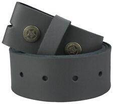 Wechselgürtel  Echt Leder Gürtel Ledergürtel für Gürtelschnalle schwarz braun