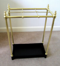 Umbrella Stand, Brass, Italian Design, Polished Finish