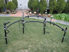 Roland MDS-20 Drum Rack Mount Stand V Drum MDS20 12 10 w/TOM CLAMPS +CYMBAL #50