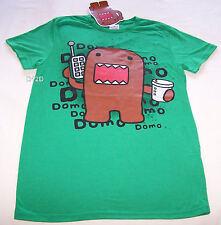 Domo Monster Mens Green Printed Short Sleeve T Shirt Size XL New