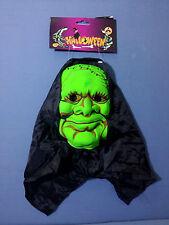 """Creepy maschera viso 6/"""" Blu Halloween shockante"""