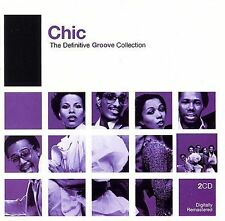 CHIC - THE DEFINITIVE GROOVE COLLECTION (NEW CD)