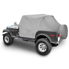 1976-1986 Jeep CJ7 Smittybilt Trail Cover with Door Flap Covers Gray