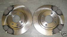 CITROEN C2 FRONT BRAKE DISCS AND PADS 1.1 1.4 8V (2003 - 2010) NEXT DAY DELIVERY