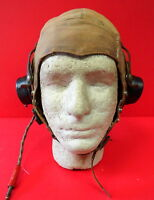 ROYAL AIR FORCE 1ST PATTERN TROPICAL TYPE D FLYING HELMET