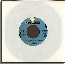 "Jan Davis - Flamenco Funk (Mosaic) + Hornets Nest - 7"" 45 RPM Single!"