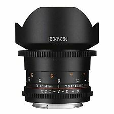 ROKINON DS 14mm T3.1 Full Frame Ultra Wide Angle Cine Lens for Nikon Mount