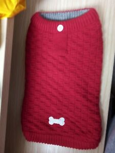 NEW RED DOG JUMPER, SIZE XS, BY WAG A TUDE.